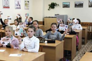 """Мастер-класс """"Открытка к 23 февраля"""""""